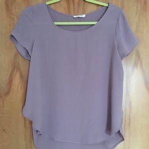 LUSH purple blouse